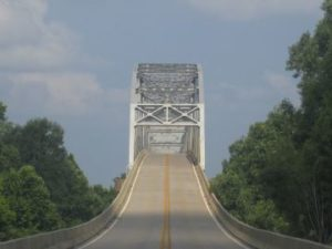 Bridge over the Red River in Louisiana. Taken by Billy Hathorn, CC-BY-SA-3.0